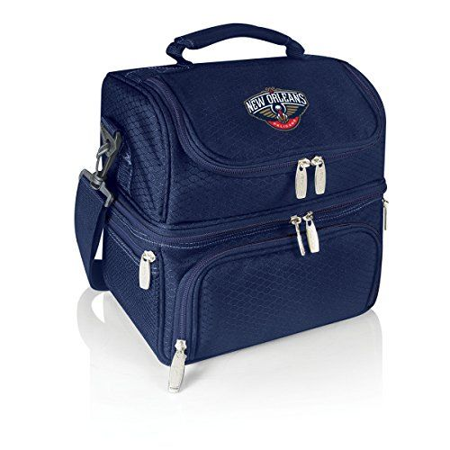 NBA New Orleans Pelicans Pranzo Insulated Lunch Tote Navy >>> Click on the image for additional details.