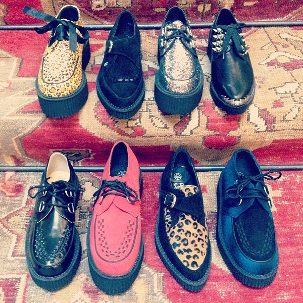 We've got the creeps.  #urbanoutfitters #creepers