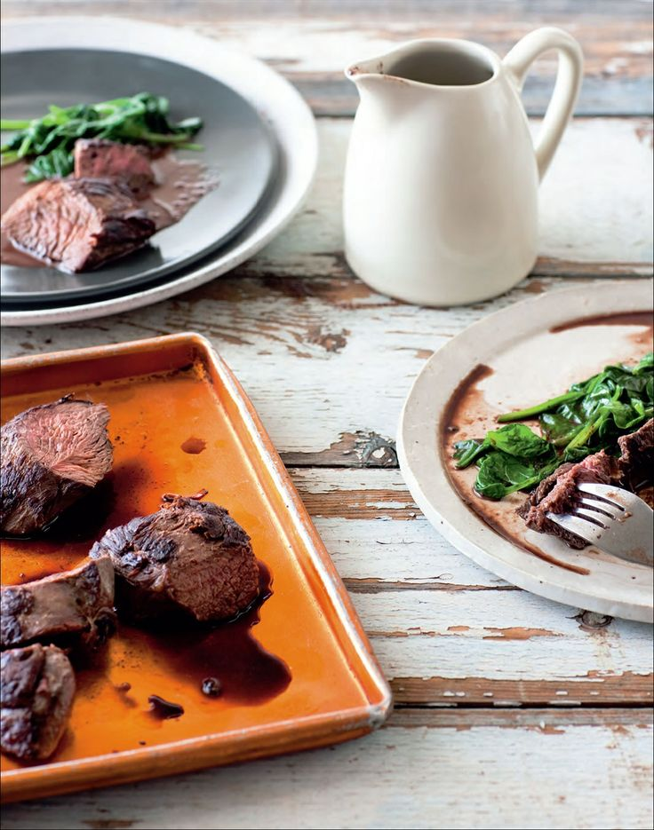 Chilli kangaroo with coffee and chocolate sauce recipe by Ian Thorpe | Cooked