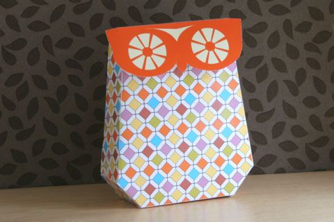 Owl Box Printable