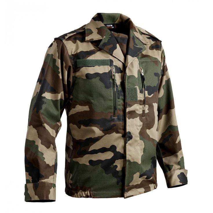 Veste treillis militaire F2 cam ce - Militaires/Pantalons / Vestes - securicount