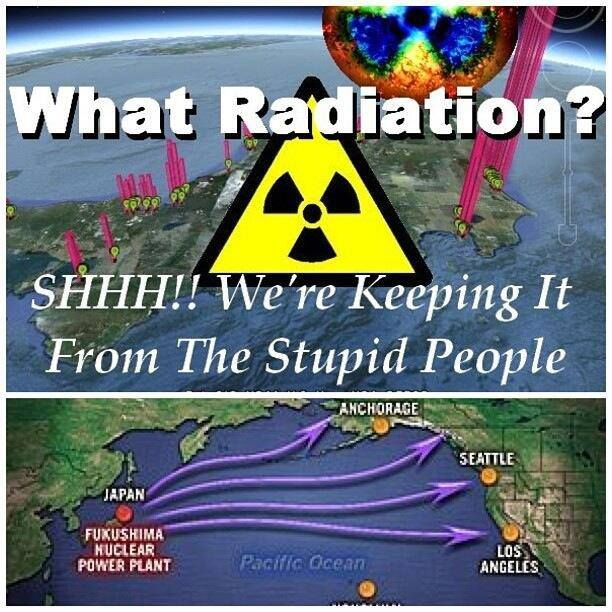 Ask WHY the govt. isn't talking about this...picture the mass migration or abandonment from the west coast...home prices tanking there and rising everywhere else...hospitals overwhelmed with new cancer patients from all the radiation...Why is our government silent???