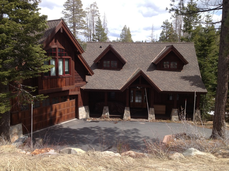 Garage Addition Hillside Drive Tahoe Dream House Pinterest