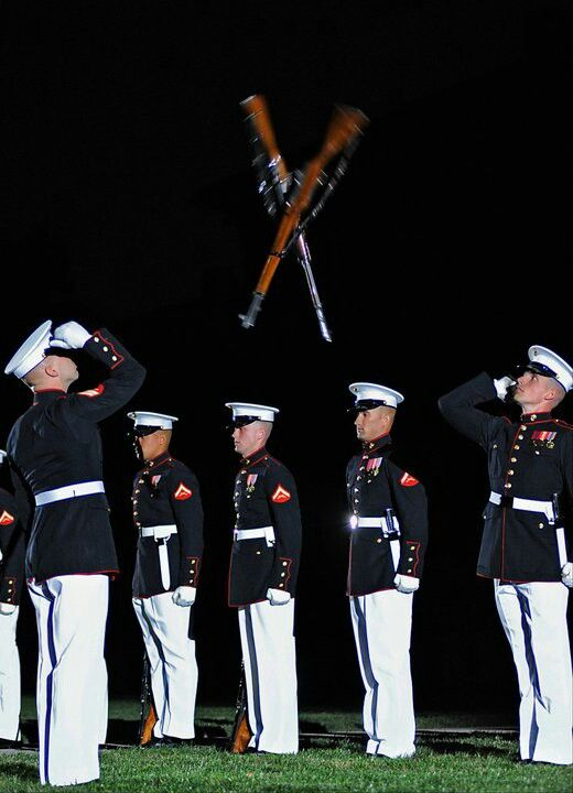 United States Marine Corps. Breathtaking to see in person.