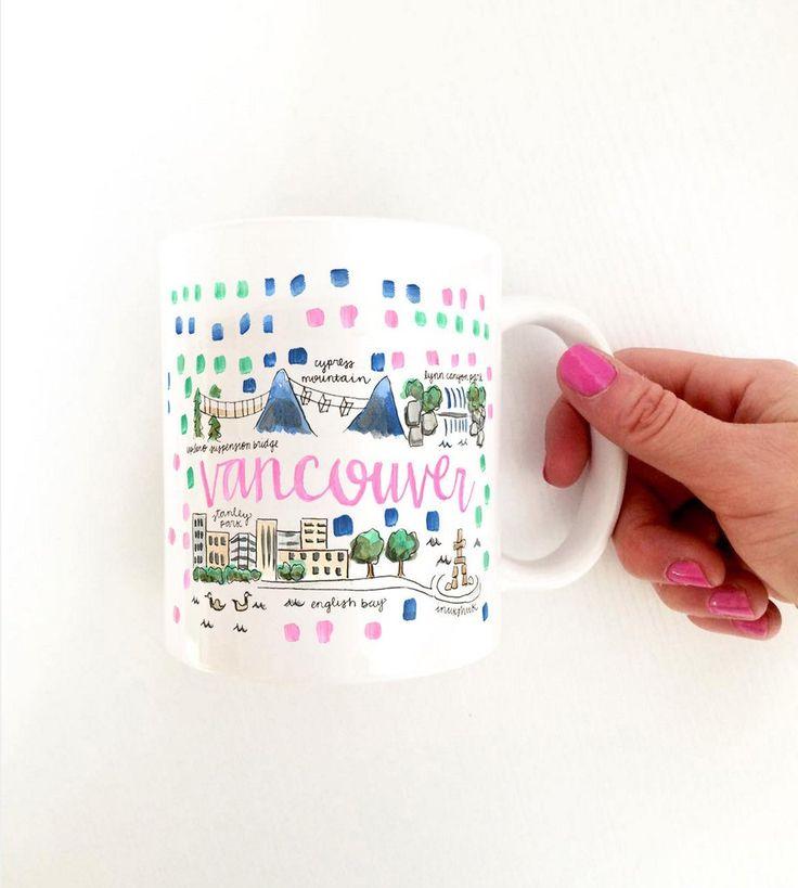 Vancouver Map Mug – Evelyn Henson