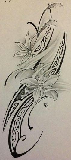 Rib design or shoulder design #maoritattoosshoulder #maoritattoossleeve #femininepolynesiantattoos