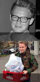 #Glenn #Schlitzohr #Pfandflaschenmillionaer #mylittlejob #brillenschlange