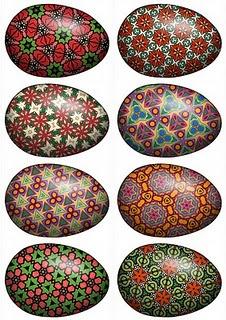 86 best pysanky images on pinterest ukrainian easter for Egg mosaic design