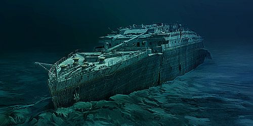 September 1 – The wreck of the RMS Titanic (1912) in the ...