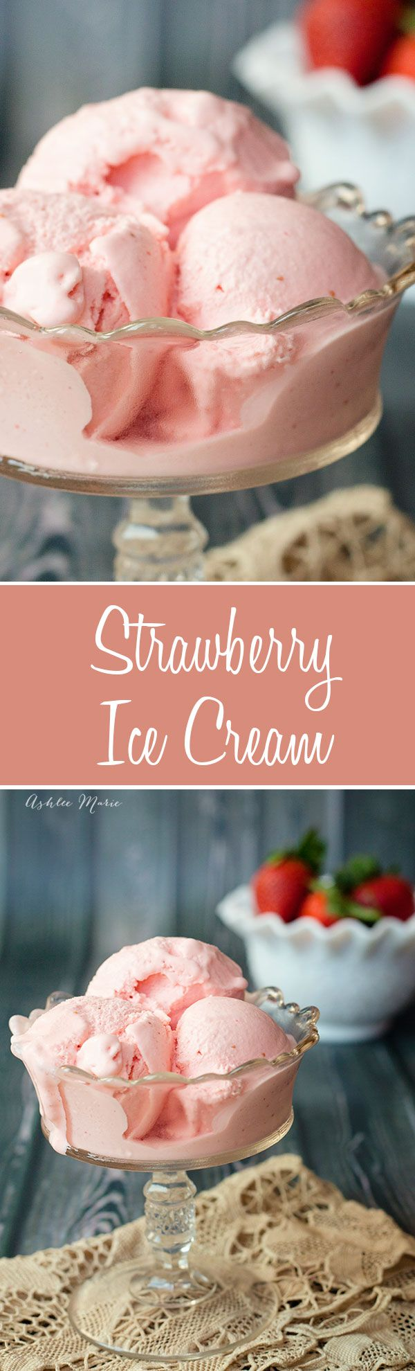The best strawberry ice cream you will ever have.  Creamy, smooth with AMAZING flavor, everyones favorite recipe (Icecream Recipes Lemon)