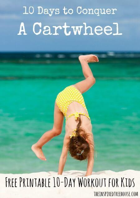 10 DAYS TO CONQUER: HOW TO DO A CARTWHEEL