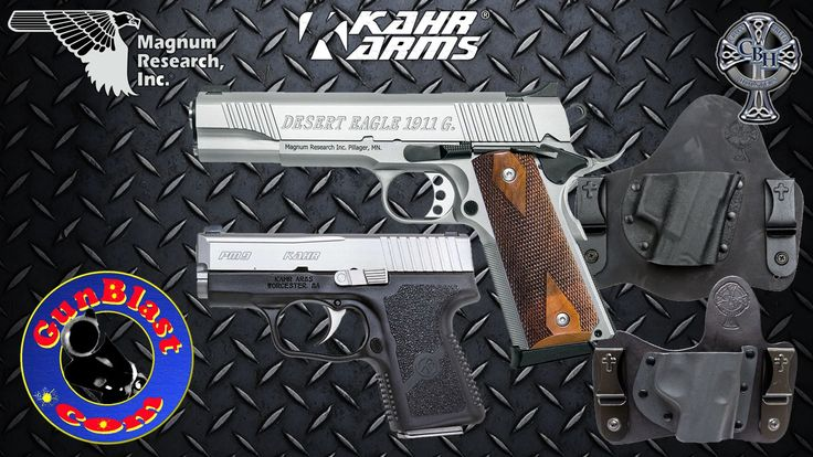 Magnum Research DE1911G / Kahr PM9 / CrossBreed Holsters Giveaway - Gunb...