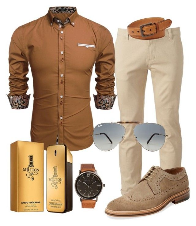 """""""100%mens"""" by alice-fortuna ❤ liked on Polyvore featuring Chor, FOSSIL, Modern Fiction, Paco Rabanne, TOKYObay, Ray-Ban, men's fashion and menswear"""