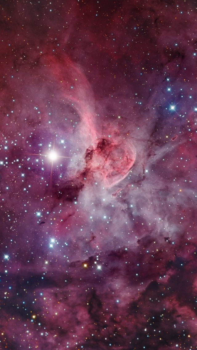 The Great Carina Nebula 2 #iPhone #5s #Wallpaper