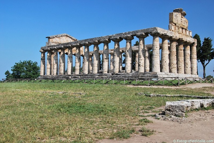 Photos from Italy | Immagini Italia - Landscape from Paestum - Campania