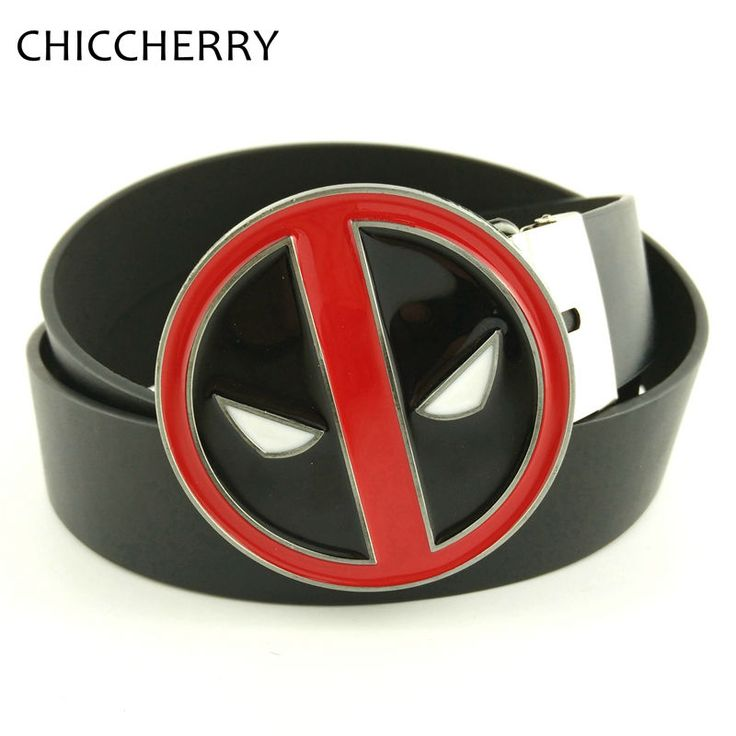 Cool Deadpool Belt Buckle Men Belts Buckles Metal Fivela De Cinto Hebilla Cinturon Accessories Men's Belts Strap On Male Girdle