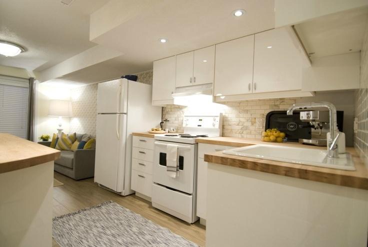 Brand new basement kitchen, Income Property HGTV