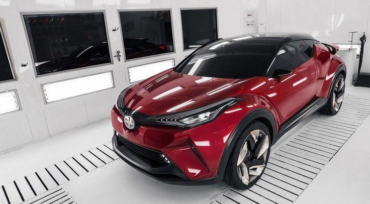 Scion C-HR, el B-SUV de Toyota va en serio y llega a Estados Unidos de mano de Scion - http://www.actualidadmotor.com/scion-c-hr-concept-b-suv-toyota/