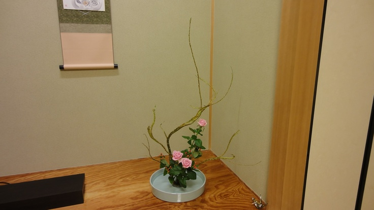 The placing of flowers in the tokonoma, or alcove of the main room, is an articulation of Japanese spirituality that is distinctly different from other forms of artistic expression.