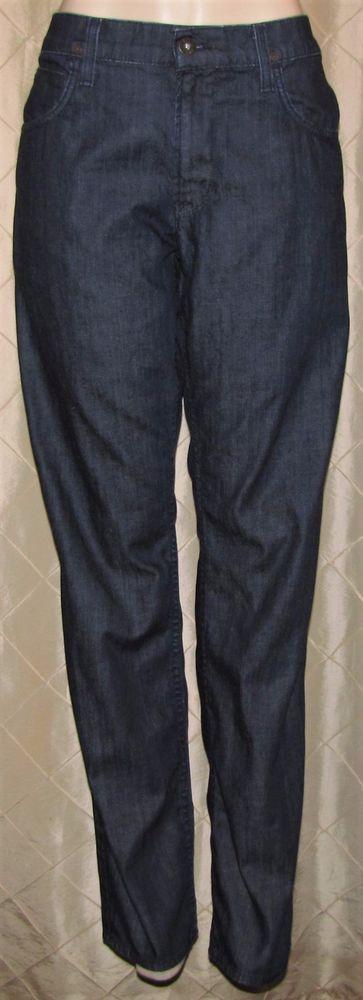 Mens Hudson Byron Straight Leg Dark Wash Jeans 38 x 35 Five Pocket Stretch  #HudsonJeans #ClassicStraightLeg
