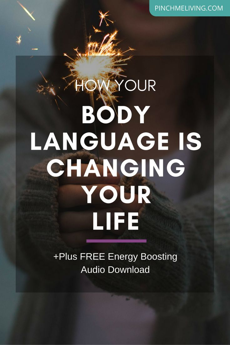 What's your body language communicating to other people? But more importantly… what's your body language communicating to yourself? Did you know that tiny tweaks in your body language can lead to big changes in your life? Discover how in this insightful & powerful short video https://www.pinchmeliving.com/body-language-changes-outcomes