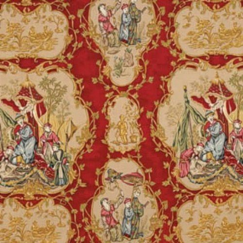 Vervain TAIPING PALACE RUBY Fabric