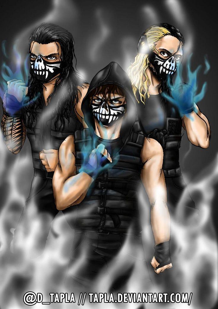 """Prepare, [The Revolution] WILL BURN [The Evolution]"" -- Clean Version @Seth Combs Rollins @WWERomanReigns #WWEFanart pic.twitter.com/wTxOYn88nN Credit Tapla"