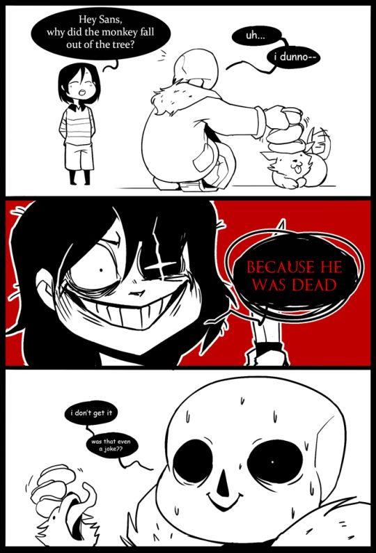 I am literally only pinning this for the dogs face in the last panel xD