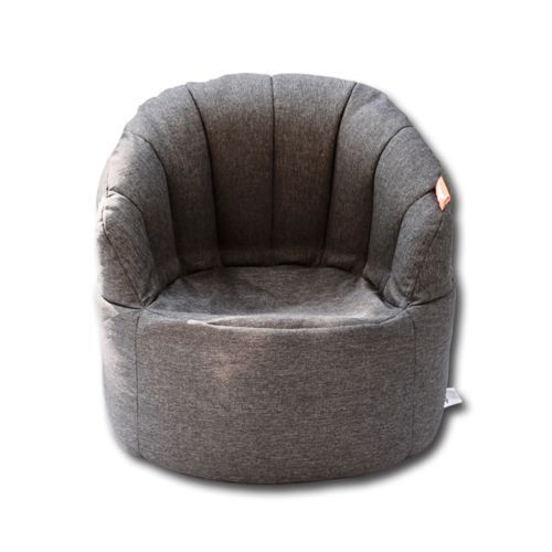 Shell-Bean-Bag-Sofa-Beanbag-Cover-Reading-Relaxing-Chair-Seat-Lounge-Bed-Grey