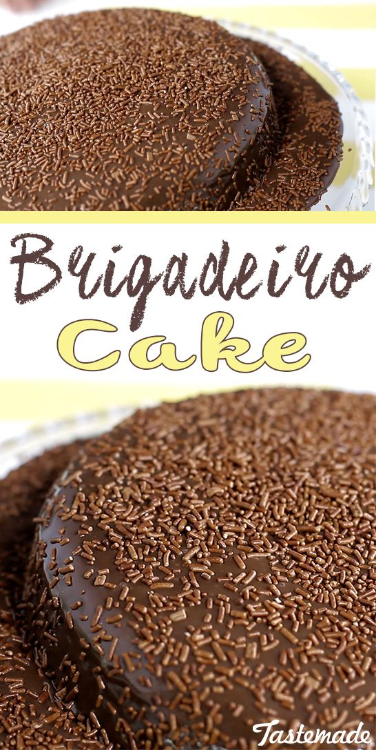 A deliciously rich cake inspired by Brazil's most beloved dessert: the brigadeiro! Chocolate lovers rejoice!
