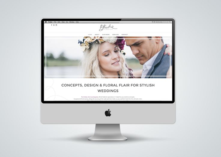 """http://www.newnormal.co.za/work/bride-sidekick/  """"The website had to follow suit, as it was important to create content and visuals that would engage with the right target market and wedding industry partners, while still remaining true to the original Bride Sidekick 'differentness""""."""