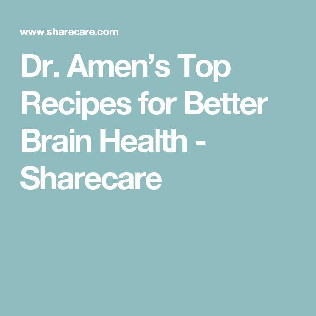 Dr. Amen's Top Recipes for Better Brain Health - Sharecare