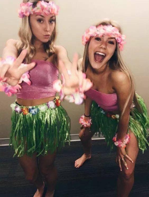Fantasia de havaianas!