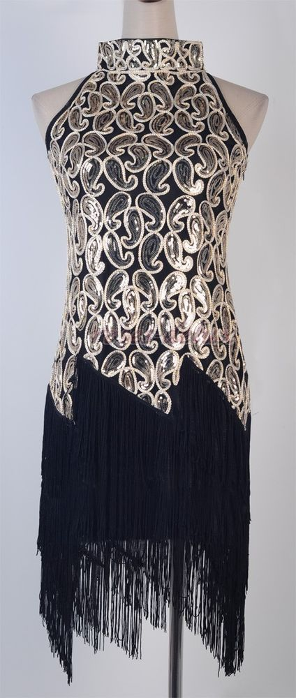1920s Flapper Dress Clubwear Party Gatsby Sequin Tassel Plus Size Dress RD 3225 in Clothing, Shoes & Accessories, Women's Clothing, Dresses | eBay