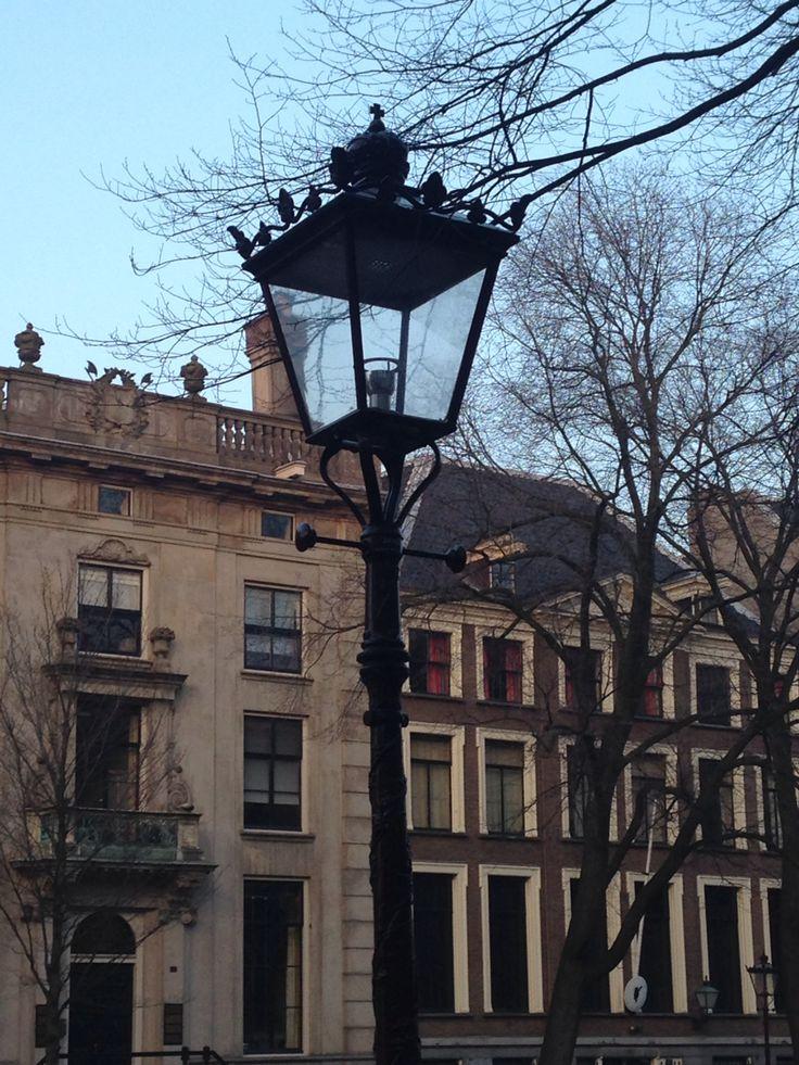In den Straßen von Amsterdam