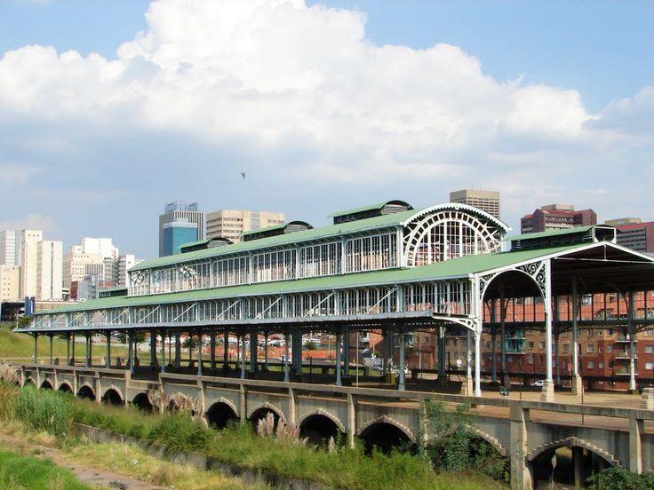 Historic Park Station Building Johannesburg