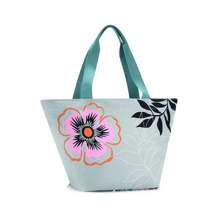 Torba Reisenthel Shopper XS 4l, edition flower   sklep PrezentBox - akcesoria, zegary ścienne, prezenty