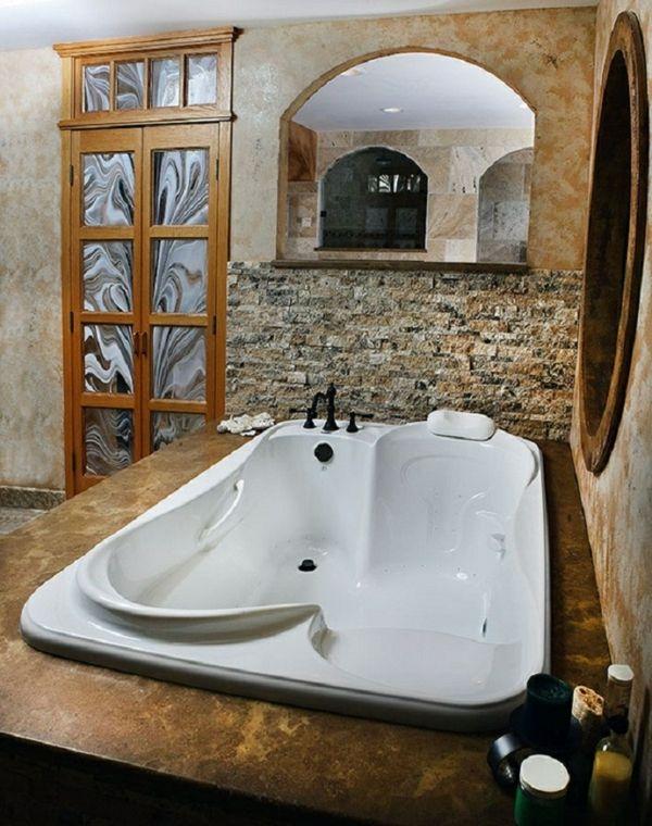 innovative Badewannen modern für zwei