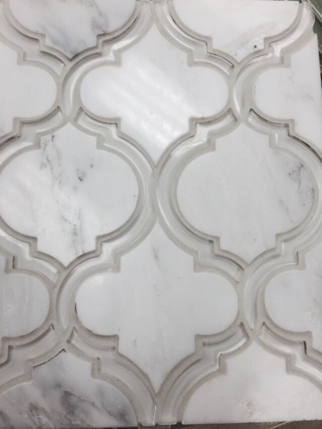Elysium Waterjet Marble And Glass Tile Worth Every Penny