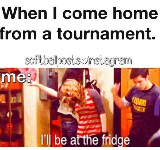 Or when I go back to the hotel between games
