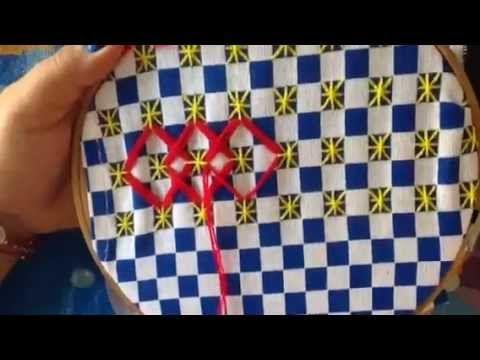 - 12 bordado español con cony - YouTube