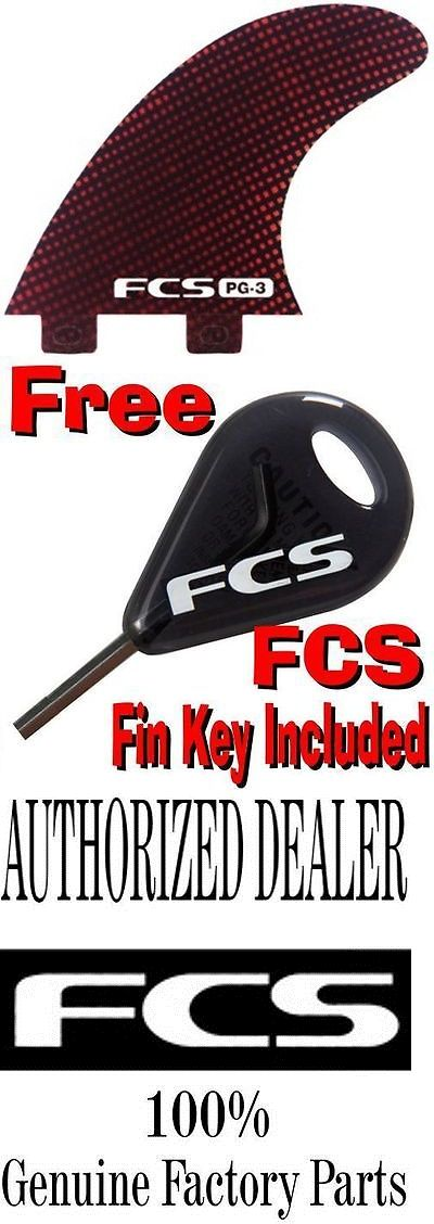Surfboard Fins 114250: Fcs Pg-3 Surfboard 3 Fin Set Carbon Performance Glass - Brand New Keel BUY IT NOW ONLY: $88.98