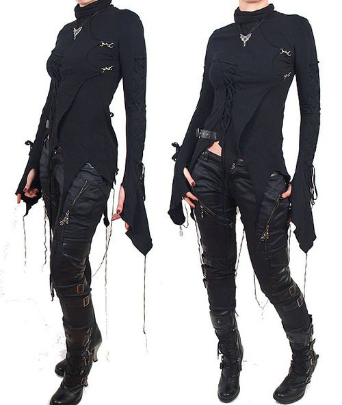Post-Apocalyptic Fashion  LOVE this.