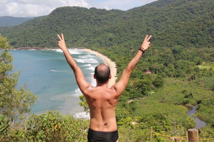 Brasil - Praia do Sono - Vista maravilhosa da trilha para Ponta Negra