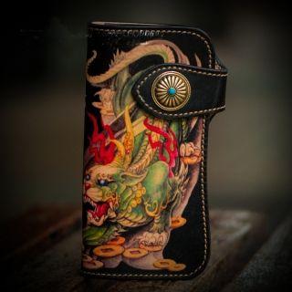 Dragon Design CowSkin Quality Fashion Wallet