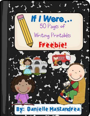Krazee 4 Kindergarten: Free Downloads Writing Journal Prompts. * Scroll to end of this to find it. Lots of other free printables too! :)