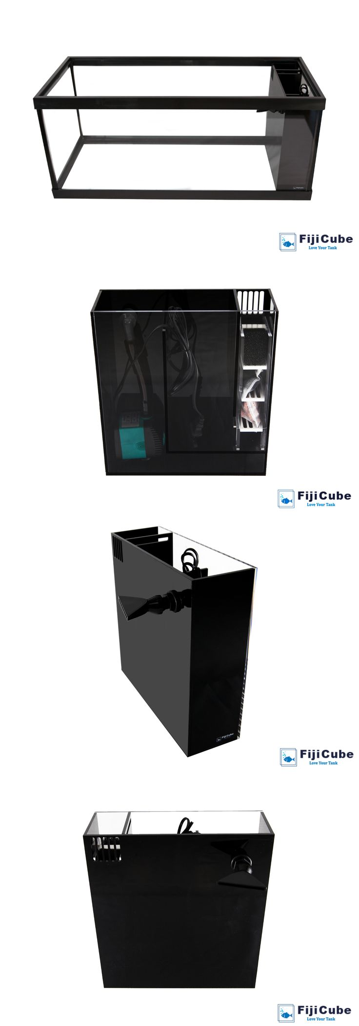 Aquariums and Tanks 20755: In-Sump All-In-One Aio Aquarium Filtration Sump Kit - 20 Gallon Long - Fiji Cube -> BUY IT NOW ONLY: $104.99 on eBay!