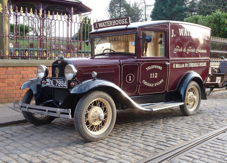 1932 Ford Model A van