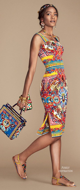 cool Dolce & Gabbana SS2016 Carretto Siciliano Women's Fashion RTW | Purely I...