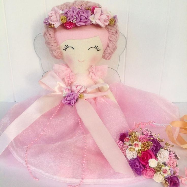 Look at the gorgeous detail on this beautiful fairy princess doll by Carousels & Candy Floss. Perfect for a princess themed room. Check out her work at https://www.facebook.com/CarouselsandCandyFloss